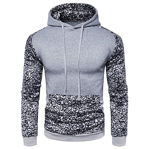Men Hoodie Sweatshirt National Style Sweater Casual Hoodie top with Drawstring Patchwork Knitted Sweater Men Retro Fashion Coat Warm Breathable Sports top Outwear XXL