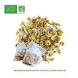 FRISAFRAN - Kamillen blütentee aus biologischem Anbau – ( 30 Teebeutel - 45Gr )