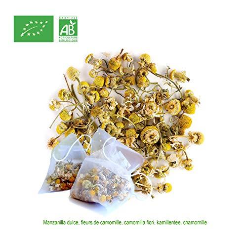 FRISAFRAN - Kamillen blütentee aus biologischem Anbau (30 Teebeutel)