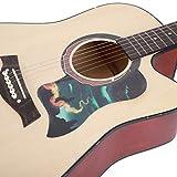 Akustikgitarre Schlagbrett Tianhe Pattern Gitarre selbstklebend Anti-Scratch Sticker Guard Schutzplatte Gitarre Geschenke Zubehör