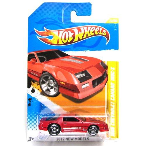 Hot Wheels 2012 New Models 1985 Chevrolet Camaro IROC-Z 22 of 50 Red