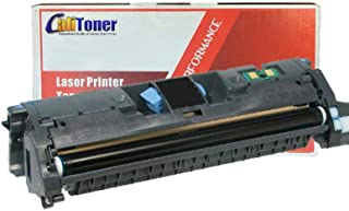 Calitoner Remanufactured Laser Toner Cartridge Replacement for HP C9700A (121A)- Black