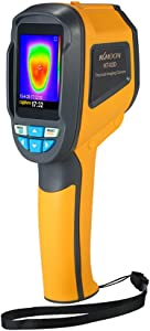 KKmoon Infrared Thermal Imager 2 4 quot  TFT Color Screen 1024 Pixels 0 3 Mega Pixels Thermometer with Vision Camera Combine Surface Temperature Measurement and Real-Time Thermal Imaging Functions