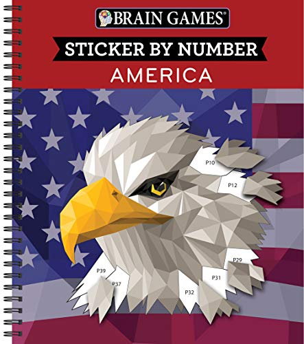 Brain Games - Sticker by Number: America