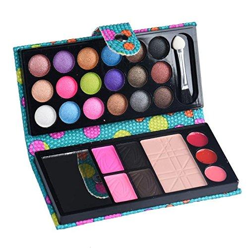 Kashyk 26 colors fard à paupières cosmétique palette de maquillage fard à paupières cosmétique fard à paupières,Palette de maquillage multifonctionnelle comprenant sourcils,garnitures,blush (BU)