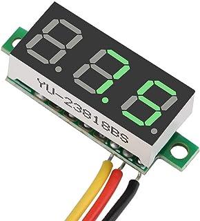 Spanningspaneel, 0,28″ 0~100V digitale spanningsmeter voor motorfietsen voor kinderauto's voor elektrische fietsen(groente)