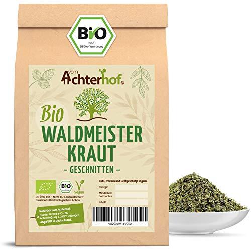 Waldmeister Tee BIO | 250g | 100% Bio Waldmeisterkraut getrocknet ohne Zusätze | vom Achterhof