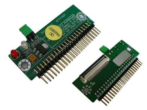 Kalea Informatique© Adapter/Konverter für IDE 2.5 – ZIF 1.8 / mit zwei ZIF-Anschlüssen / zur Verwendung einer ZIF-Festplatte auf einem Laptop mit 2,5-Zoll-IDE-Port