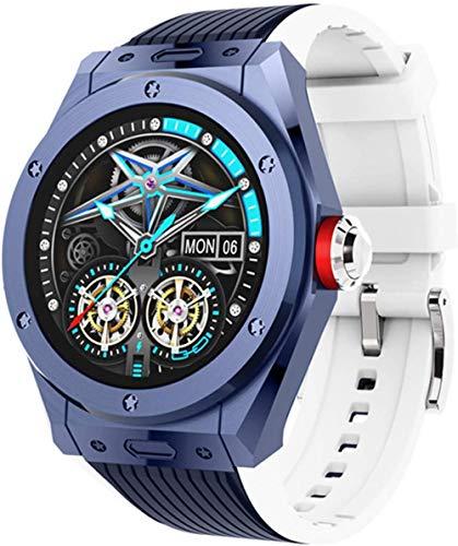 Reloj inteligente MV58 Bluetooth llamada reloj inteligente ritmo cardíaco presión arterial deportes Smartwatch-Di