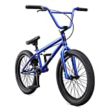 Mongoose Legion L20 Freestyle BMX Bike Line for Beginner-Level to Advanced Riders, Steel Frame, 20-Inch Wheels, Blue