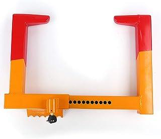 Sxmy Klämma typ hjullås förtjockat skruvstäd bil stöldsäker däck lås billås universellt