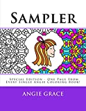 Sampler (Special Edition - One Page From Every Single Angie Coloring Book!) (Angie Grace)...