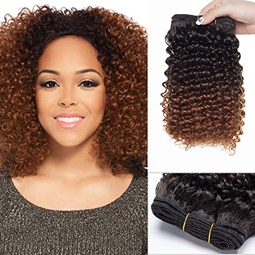 Brazilian Hair Extensions One Piece Water Wave Bundles Brasilianisches Weave Haar wie Echthaar Schwarz bis Rotbraun