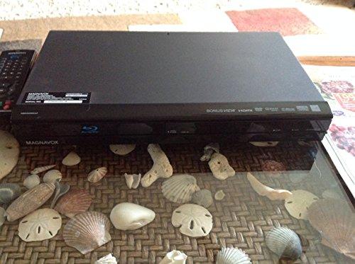 Magnavox NB500MG1F 1080p Upconversion Blu-ray Disc DVD Player w/HDMI & SD Card Slot