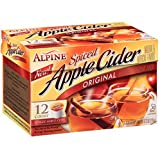 Alpine Spiced Apple Cider Single Serve K-Cups Compatible with most Keurig K-Cup brewing systems including 2.0 Natural & artificial flavors A delicious blend of cinnamon and apple flavor makes it a comforting and tasty refresher all year long Enjoy ho...