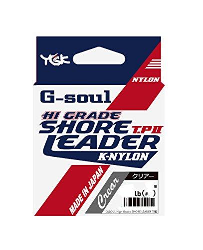 よつあみ(YGK) ショックリーダー G-SOUL ハイグレードショアリーダー TPII ナイロン 30m 3号 12lb クリアー