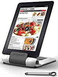 Prepara PP08-PREPWT White iPrep Adjustable Stand for Phones, Tablets, e-Readers