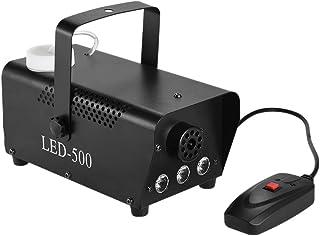ammoon Colorido 400 Vatios Niebla Maquina de Humo con las Luces del Color del LED (