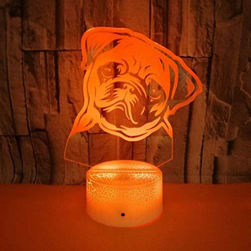 LED-nachtlampje voor in de vorm van een schommel, kleurrijk touch, visueel licht, cadeau, decoratie, sfeer, kleine tafellamp