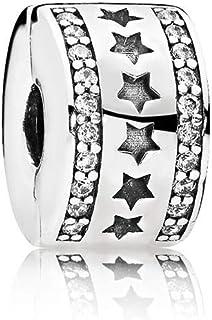 Pandora 潘多拉 星光熠熠925银固定夹 - 796381CZ