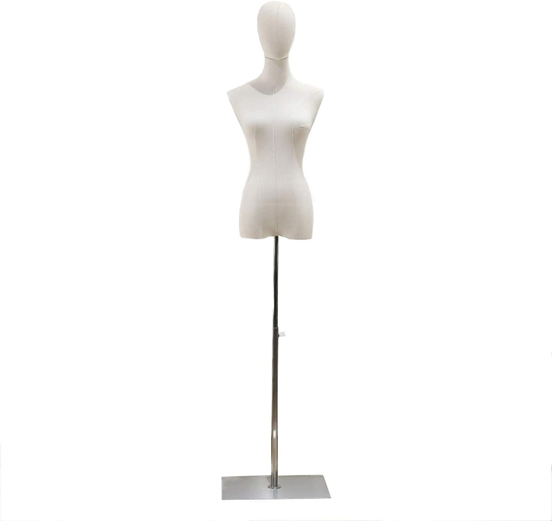 KKCF Mannequins Torso Height Adjustable Wedding Max 77% OFF Boston Mall Clothing Store