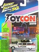 Johnny Lightning 2019 Las Vegas Toycon Ghostbusters Ecto 1 -1:64 Die-Cast