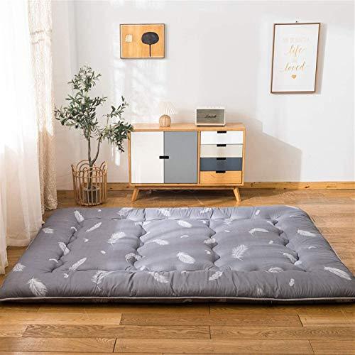 dongyu Colchón japonés grueso Tatami, futón colchón, cama gruesa Tatami, colchón plegable de camping, tamaño Queen (tamaño: 135 x 200 cm, color: A)