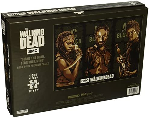 AMC The Walking Dead 1000-piece Premium Collectors Puzzle USAopoly for sale online