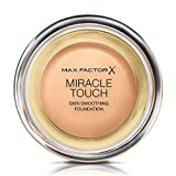 Max Factor Miracle Touch Liquid Illusion Foundation, No.75 Golden, 0.38 Ounce