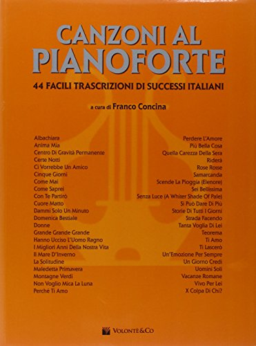 Canzoni al pianoforte (Vol. 1)