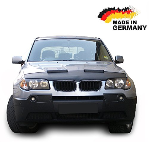 Hood Bra for BMW X3 E83 Bonnet Car Bra Front End Cover Nose Mask Stoneguard Protector TUNING