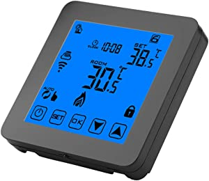 WiFi Thermostat Programmable Heating Thermostat Digital LCD Screenwith Backlight Wirless Temperature Controller