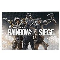 人気 アニメパズル 大型木製 パズルおもちゃギフト創造的な減圧diyチャレンジアート画像レインボーシックス シージ Rainbow Sig Siege2