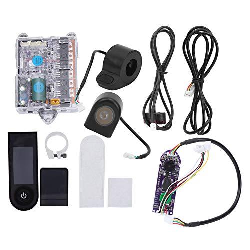 Fybida Kit de Tablero de Controlador Ligero Impermeable Profesional, cómodo monopatín de aleación de Aluminio Diaplay para Scooter eléctrico