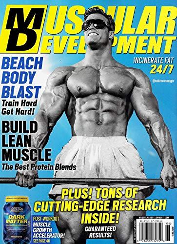 MUSCULAR DEVELOPMENT Magazine June 2019 BEACH BODY BLAST