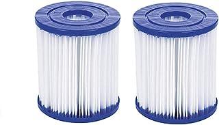 SYANO Tamaño 1 cartucho de filtro, filtro de piscina, fácil instalación, cartucho de filtro de repuesto para piscina Bestway tipo I Whirlpool o Spa (2 unidades)