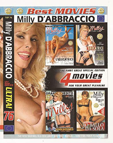 MILLY D'ABBRACCIO - BOX 4 DVD - BEST MOVIES COLLECTION