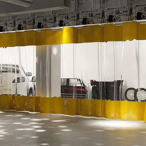 Lona alquitranada Panel Lateral de Carpa Resistente, Terrazas Cortinas Impermeables, Lona Revestida con Costura de Lona Transparente, para Porches, Taller (Size : 1m x 3m(3ft×10ft))