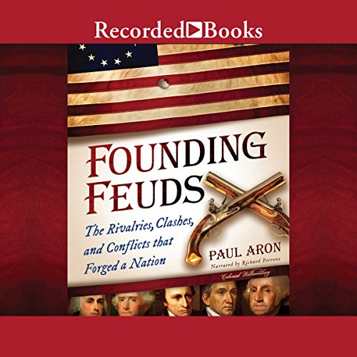 Founding Feuds audiobook cover art