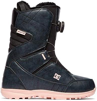 DC Search BOA Snowboard Boots Womens Sz 8 Black