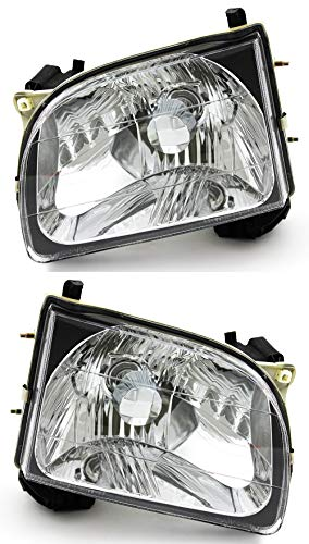 For Toyota Tacoma Headlight 2001 2002 2003 2004 Driver and Passenger Side Headlamp Assembly Replacement