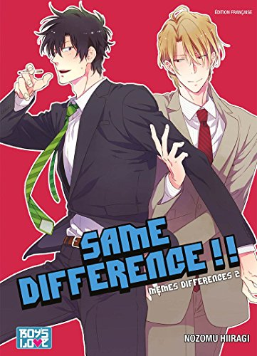 Same Difference - Tome 02 - Livre (Manga) - Yaoi