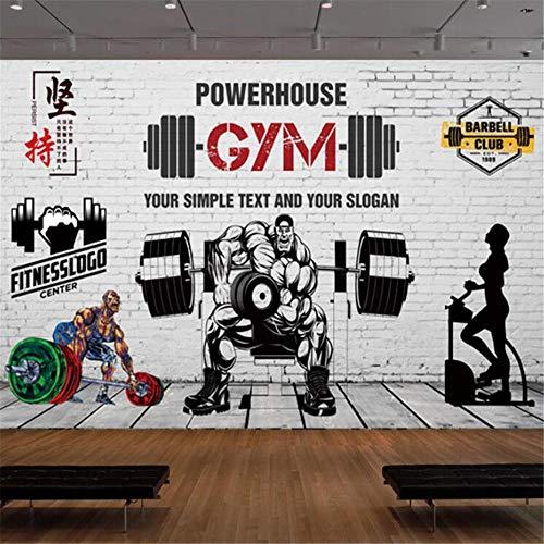 Mural De Papel Tapiz Stick To The Gym Gimnasio Gimnasio Gimnasio De Ejercicio Abierto Levantamiento De Pesas Músculo Pegatinas De Pared Decoración De Pared Pegatinas