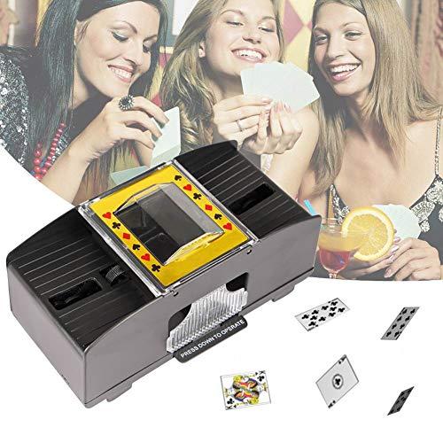 Find Bargain ACGN Playing Card Shuffler Automatic, Battery-Operated Electric Shuffler Card Shuffler ...