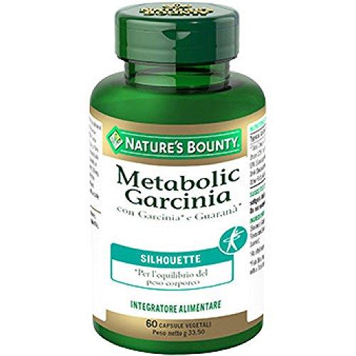 Nature's Bounty Metabolic Garcinia Integratore Alimentare, 60 Capsule