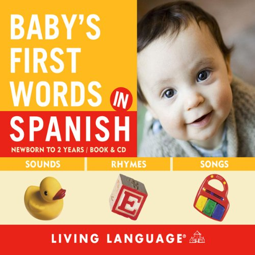 Baby's First Words in Spanish Titelbild