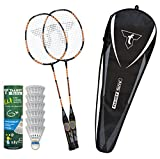 Talbot-Torro Lern-Badminton Set Eli Advanced, Unisex niños, Multicolor, Talla única