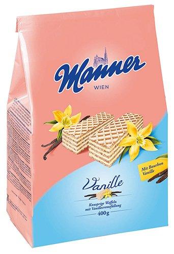 5x Manner - Schnitten Vanille - 400g
