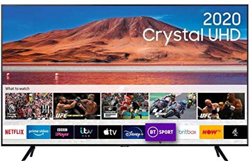 """Samsung 50"""" TU7000 HDR Smart 4K TV with Tizen OS"""