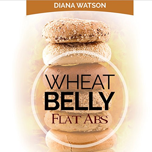 Wheat Belly Flat Abs audiobook cover art